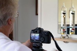 Bev and her camera