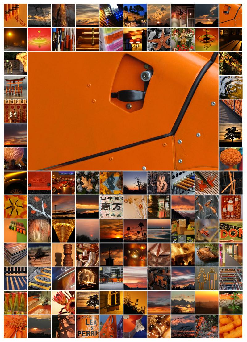 100 Days - Orange