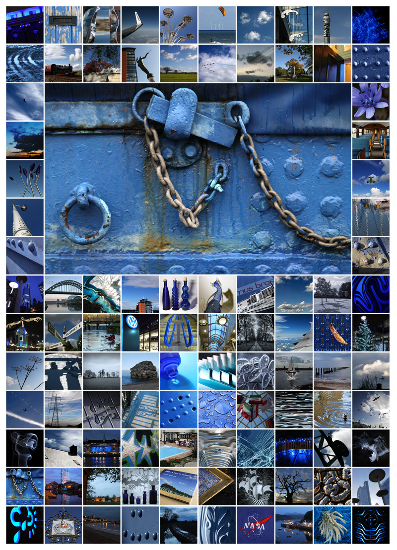 100 Days - Blue