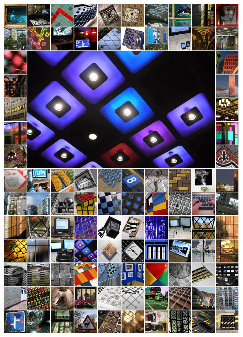 100 Days - Squares & Diamonds