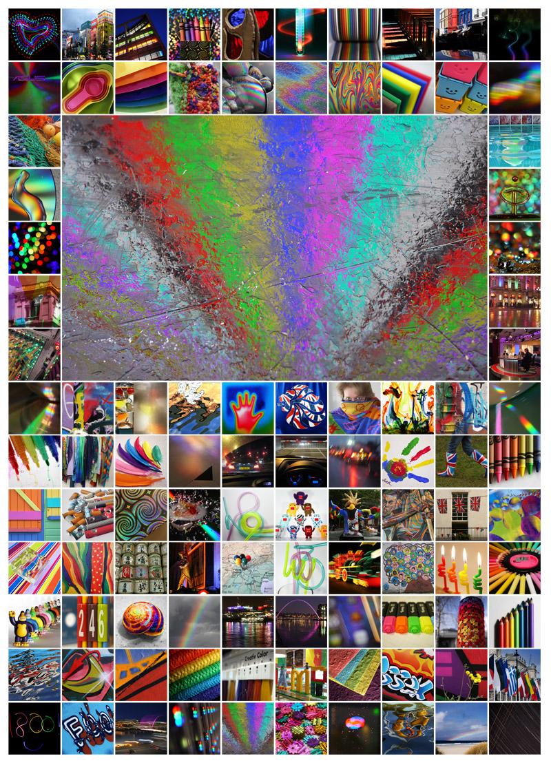 100 Days - Multicoloured